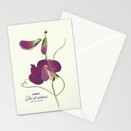 Pea- Pisello Odoroso Stationery Cards