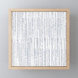 Pattern 76 Framed Mini Art Print