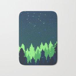 Night Sky Constellation Bath Mat