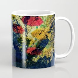 Ireland Cliff Cave Umbrellas Coffee Mug