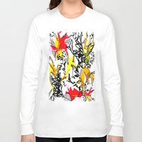 dragons Long Sleeve T-shirts featuring Dragons by Ruthy Sarwal