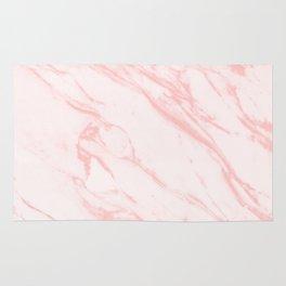 pink rose marble Rug