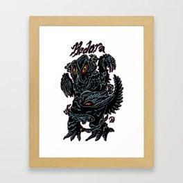 Hedorah Kaiju Print FC Framed Art Print