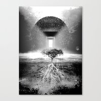 tree of life Canvas Prints featuring Life Tree by Murat Erturk