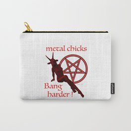 METAL CHICKS Carry-All Pouch