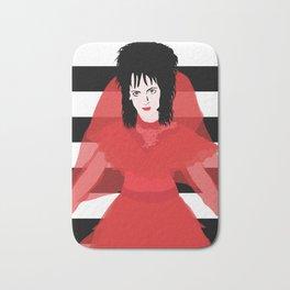 Lydia in Red Bath Mat