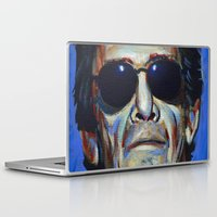 lou reed Laptop & iPad Skins featuring Lou Reed by Buffalo Bonker