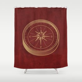 Go With Love Shower Curtain
