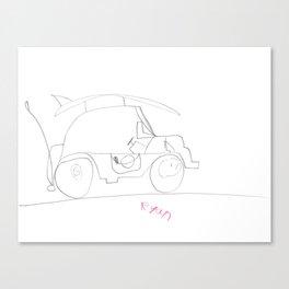 Beach Buggy Canvas Print