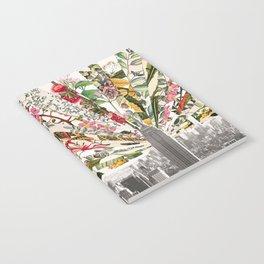 Vintage Blooming New York Notebook