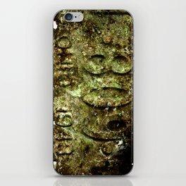 plate rust iPhone Skin