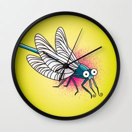 Bssssssssst Wall Clock