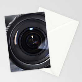 Photo lens front Stationery Cards