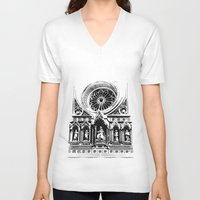 florence V-neck T-shirts featuring Florence by Mad Love