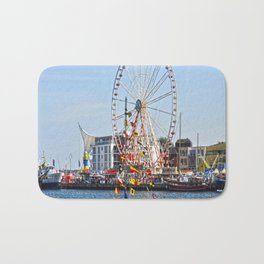 landscape baltic sea Bath Mat