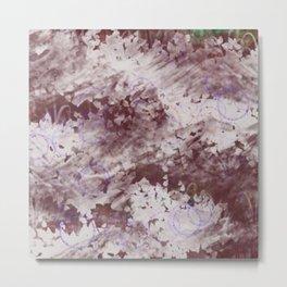 Texture Art - Bubbles Metal Print
