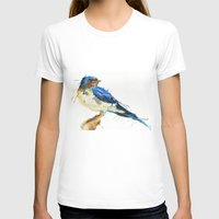 swallow T-shirts featuring Swallow by Meg Ashford