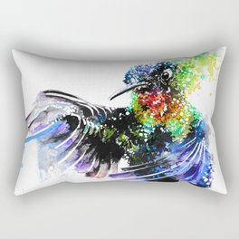 Hummingbird 4 Rectangular Pillow