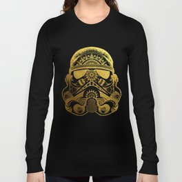 Mandala StormTrooper - Gold Foil Long Sleeve T-shirt