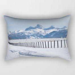 The Grand Tetons Rectangular Pillow