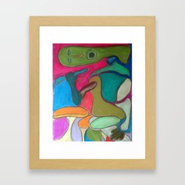 Sortir Cafe Framed Art Print