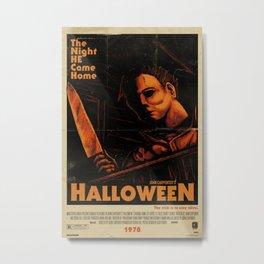 Halloween 1978 - Distressed Metal Print