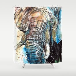 African Giant Shower Curtain