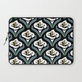Calla Lily Pattern Laptop Sleeve