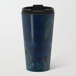 """""""Conquest of the Useless"""" by Werner Herzog Print (v. 5) Travel Mug"""