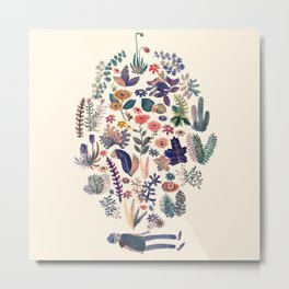 New Nature Creation Metal Print