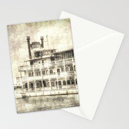 New Orleans Paddle Steamer Vintage Stationery Cards