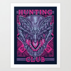 Hunting Club: Gore Magala Art Print