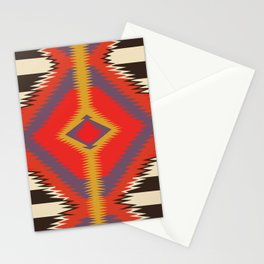 American Native Pattern No. 87 Stationery Cards