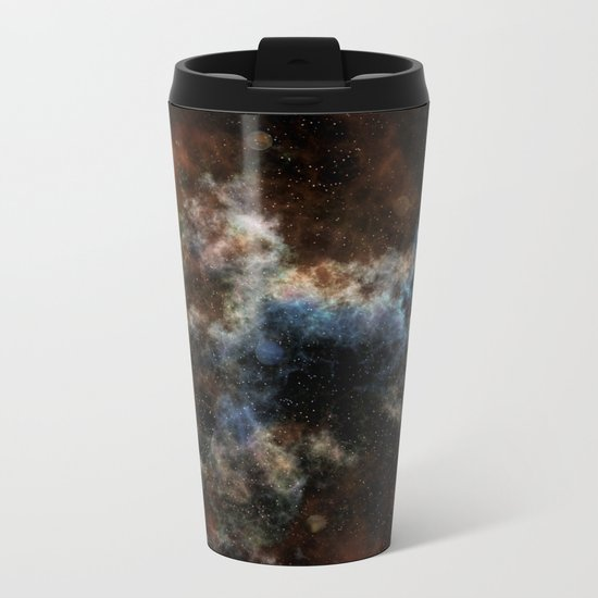 Spaced Out! Metal Travel Mug