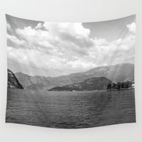 river Wall Tapestries featuring River by Shaila