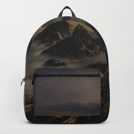 Facing The Ocean Backpack