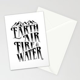 THE FOUR ELEMENTS Stationery Cards