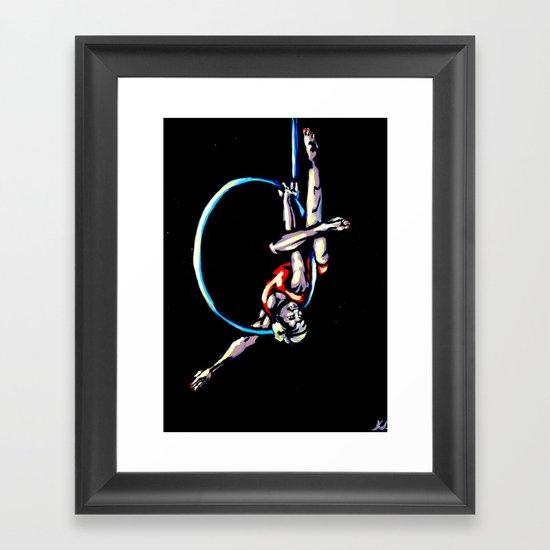 Keep them Crossed Framed Art Print