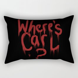 Where's Carl? Rectangular Pillow