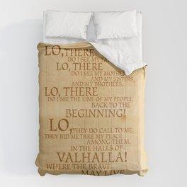 Viking Prayer Comforters