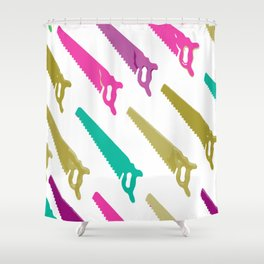 saw Shower Curtain