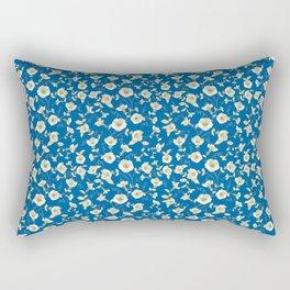 Bindweed samless pattern. Rectangular Pillow