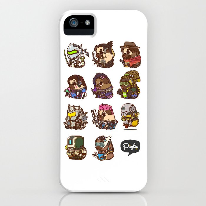 Pugliewatch Collection 2 iPhone Case