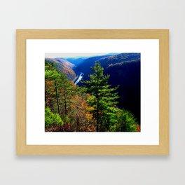 Pennsylvania Grand Canyon Framed Art Print