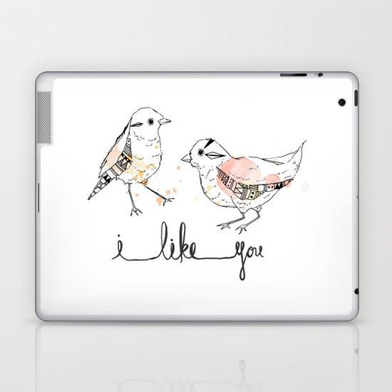 i like you Laptop & iPad Skin