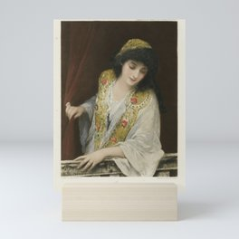 The Graphic Gallery of Shakespeare's Heroines (1896) - Jessica, from The Merchant of Venice Mini Art Print