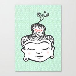 Buddha infinity Canvas Print