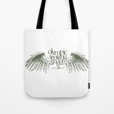 Olympic Sporting Angel Tote Bag