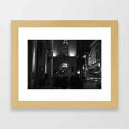 The Ritz Framed Art Print