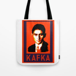 Authors of Note - Franz Kafka Tote Bag